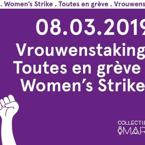 Grève Journée des Femmes en Belgique