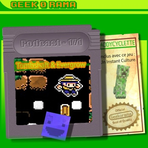 Épisode 171 Geek'O'rama - Tombshaft & Evergrow | Instant Culture : Minecraft