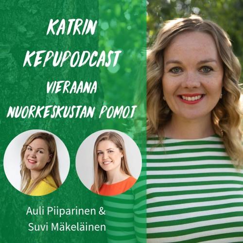 KepuPodcast - vieraana nuorkeskustan pomot Suvi ja Auli