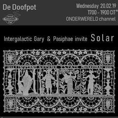DE DOOFPOT 5 W/ INTERGALACTIC GARY & SOLAR