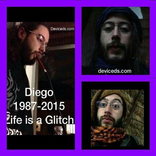 """""""Life is a Glitch"""" by Deviceds, by Futuristic Mind, by Divago"""