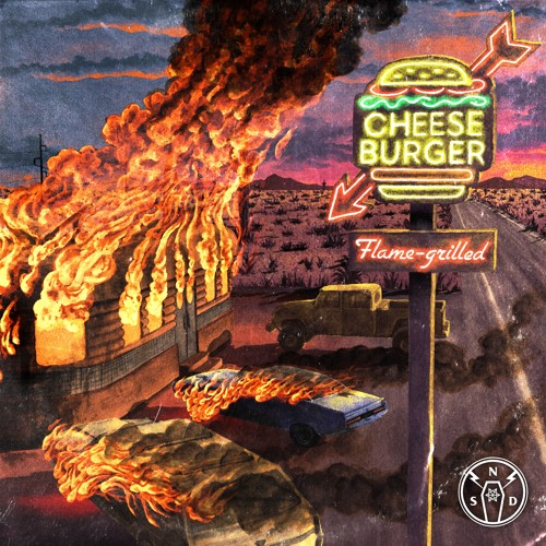 SPACE LACES - Cheeseburger