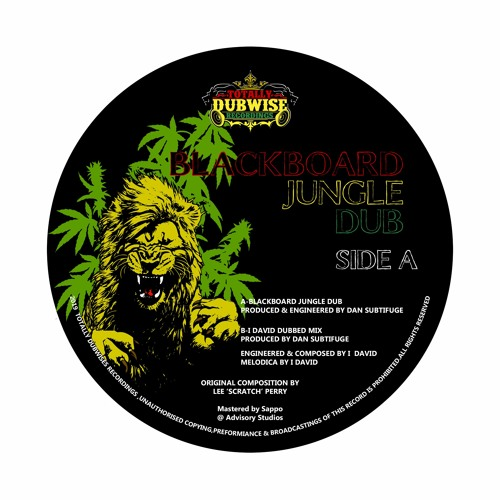 "Blackboard Jungle Dub (7"" Vinyl Release)"
