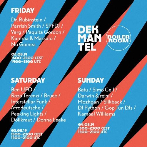 Dollkraut | Boiler Room x Dekmantel Festival 2019