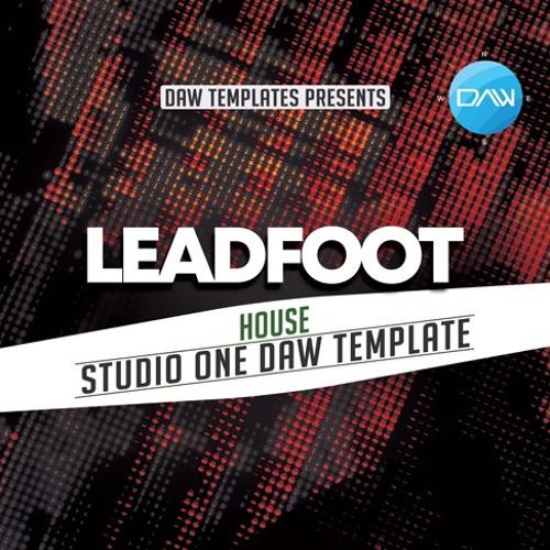 Leadfoot Studio One DAW Template