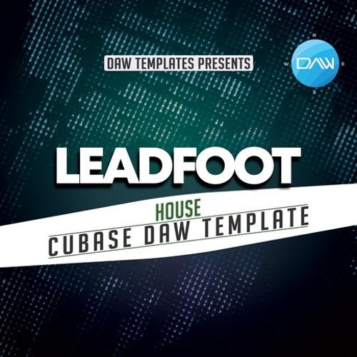 Leadfoot Cubase DAW Template