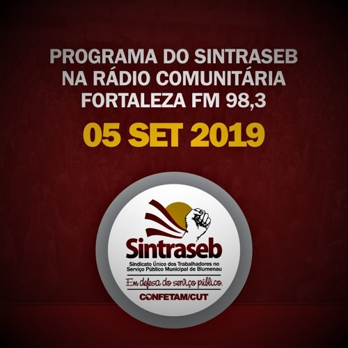 Programa do Sintraseb 05 09 2019