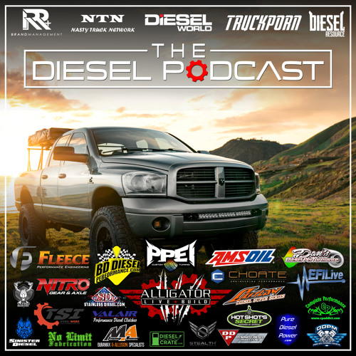 600+HP Diesel-Swapped Dodge Charger by The Diesel Podcast