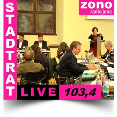 Hörfunkliveübertragung (Teil 1) der Fortsetzung der 3. Sitzung des Stadtrates der Stadt Jena