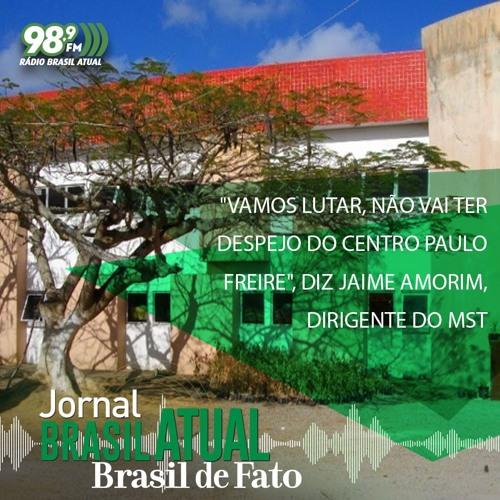 """""""Vamos lutar, não vai ter despejo do Centro Paulo Freire"""", diz Jaime Amorim, dirigente do MST"""