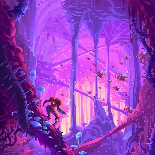 Buttstar: Overgrown With Vegetation (Super Metroid