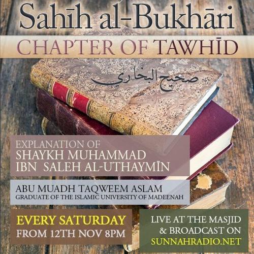 91 - Book of Tawheed - Sahih al-Bukhari - Abu Muadh Taqweem | Manchester