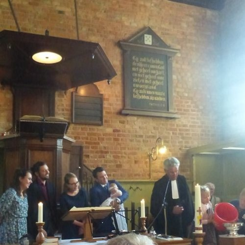 Doopdienst 8 september 2019 in Ritthem Ds. Gerrit Ruitenburg m.m.v. Adhoc Singers.