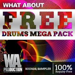 789 Free EDM & Trap Drum Samples & Loops | Free Drums Mega Pack