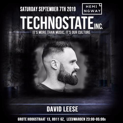 David Leese @ Technostate, Club Hemingway - Leeuwarden (07-09-2019)