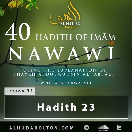 Forty Hadith: Lesson 35 Hadith 23