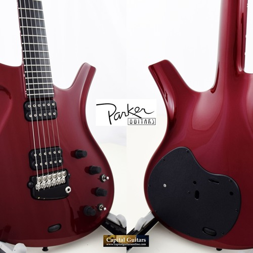 Parker Fly Deluxe 069050BP 2000 Ruby Red Ch1