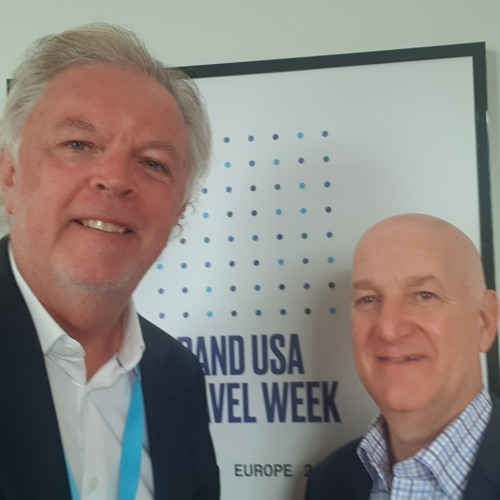 Tom Garzilli CMO for @brandusa talks to Graham McKenzie about Travel Week in London and future plans