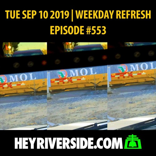 EP0553 TUESDAY SEP 10TH - WEEKDAY REFRESH