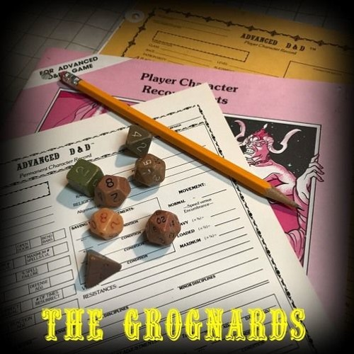 The Grognards - Secrets of Blackmoor and Griffith Mon Morgan III