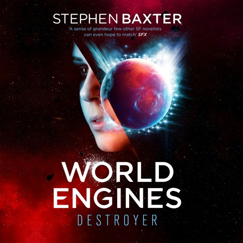 World Engines: Destroyer by Stephen  Baxter, read by Penelope Rawlins and Christopher Ragland