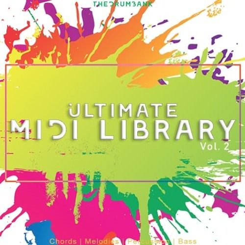 TheDrumBank Ultimate Midi Library Volume 2 MiDi-DISCOVER