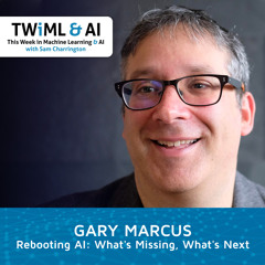 Rebooting AI: What's Missing, What's Next with Gary Marcus - TWIML Talk #298