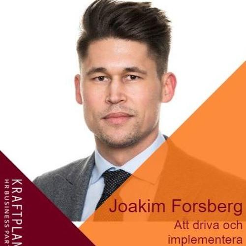 Joakim Forsberg - Att driva och implementera traineeprogram