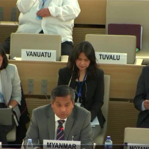 IIMM ကုလစုံစမ္းစစ္ေဆးေရးယႏၱရား ျမန္မာအစုိးရလက္မခံ ပယ္ခ်