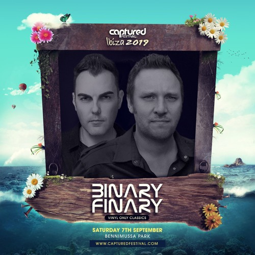 Captured Festival 2019 - Binary Finary (Vinyl Set)