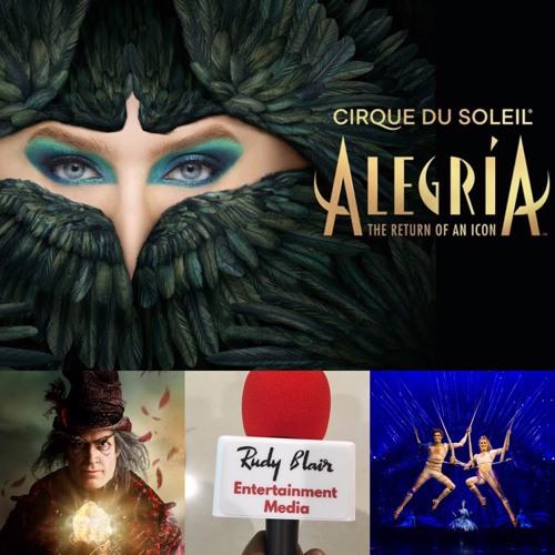 Chat w Tour Publicist Francis Jalbert  on Cirque du Soleil Alegria in Toronto