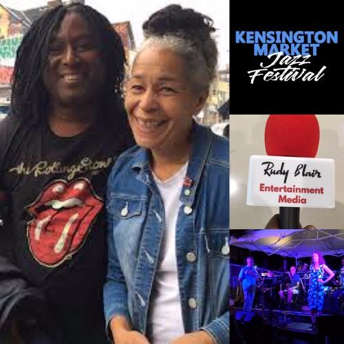 Chat w Molly Johnson  on the 2019 Kensington Market Jazz Festival