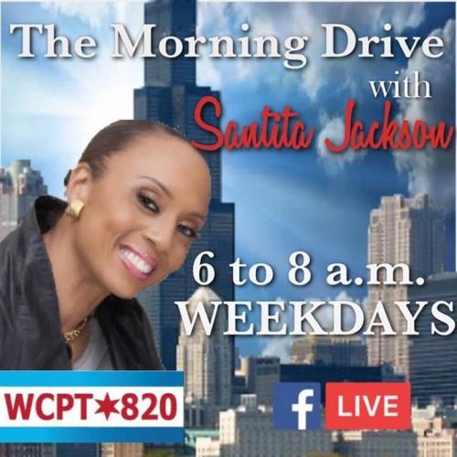 """The Santita Jackson Show' Guest Host Brandon Johnson Interview with  Susana Ibanez Larry Alcoff"