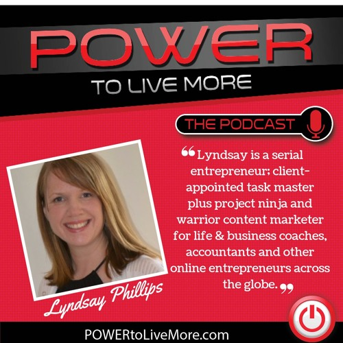 Lyndsay Phillips on Show #122 How to Perfect Your Creative Content Strategy