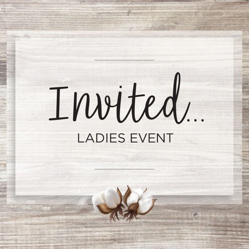 Invited - Ladies Event