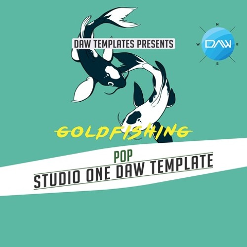 Goldfishing Studio One DAW Template