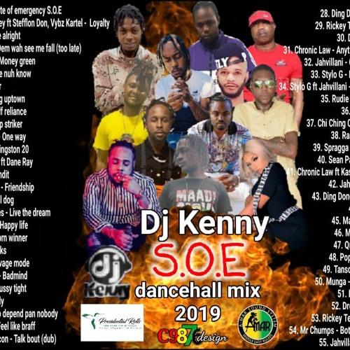 S.O.E (Dancehall Mixtape 2019 Ft D'Vercity, Stephen Marley, Stefflon Don, Vybz Kartel, Jahvillani)