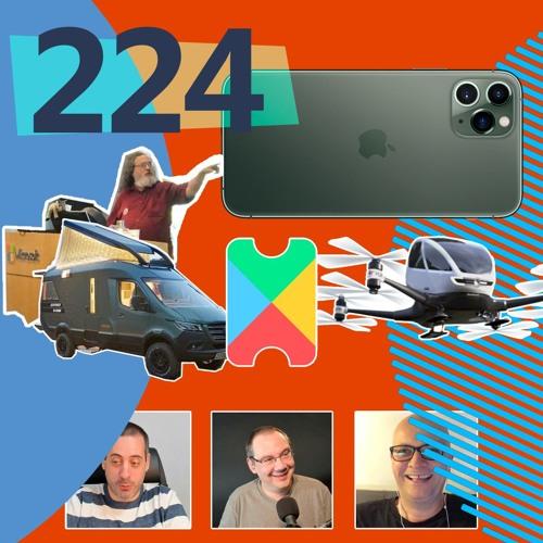 Stallman chez Microsoft et un iPhone 11 qui ne sert à rien ! ...[Les Technos | Podcast #224]