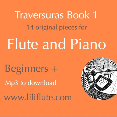 Methodical books for Flute & Piano - Traversuras Beginners+ Play-along to Dwnl
