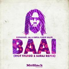 Emmanuel Jal, Abdul Gadir Salim - Baai (Riot Stereo - SURAJ Remix)*Preview [MoBlack Records]