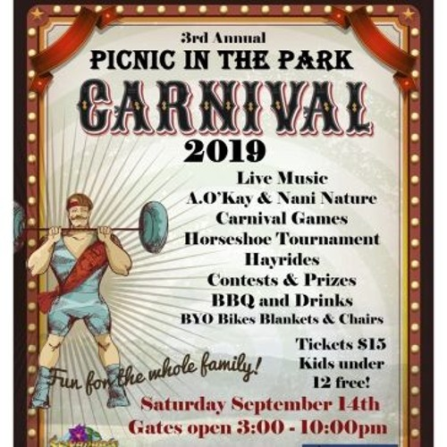 Picnic Gala in the Southern Humboldt Community Park September 14