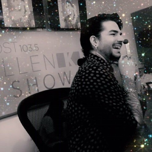 Adam Lambert In Studio Talking New Music - K OST 103.5