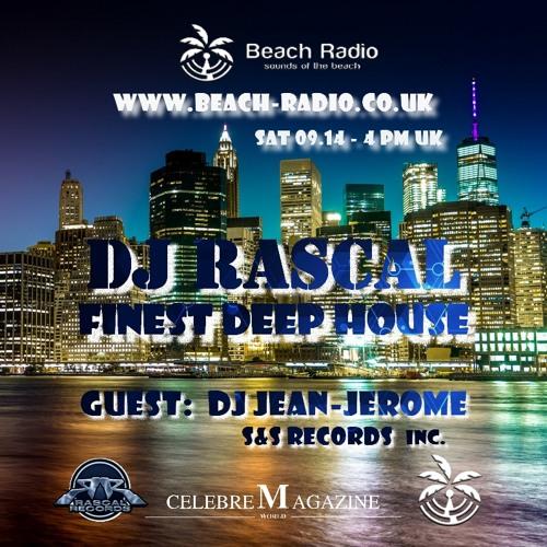DJ Rascal - Beach Radio Co Uk - Finest Deep House - Vol 8 - 14.09.2019