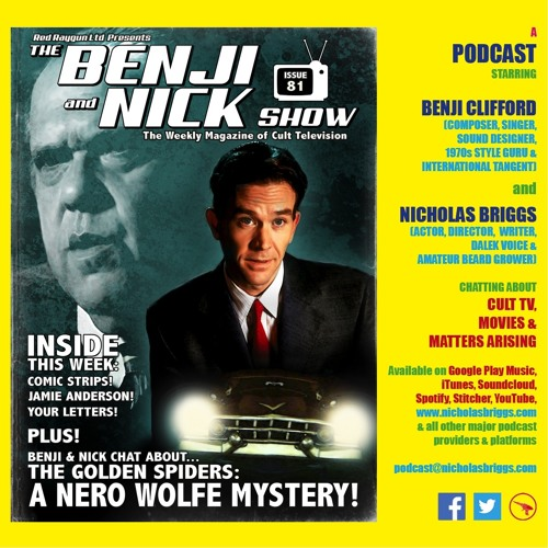 The Benji and Nick Show – A Nero Wolfe Mystery