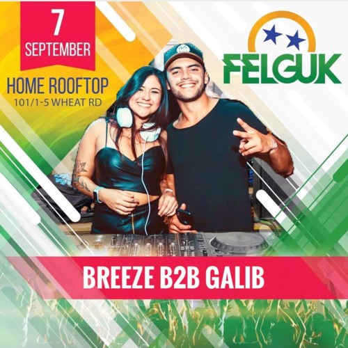 Galib b2b Breeze @ Brazilian day with FELGUK (Sydney, Australia)