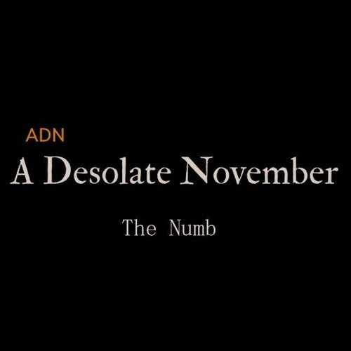 A Desolate November - The Numb (mastered)