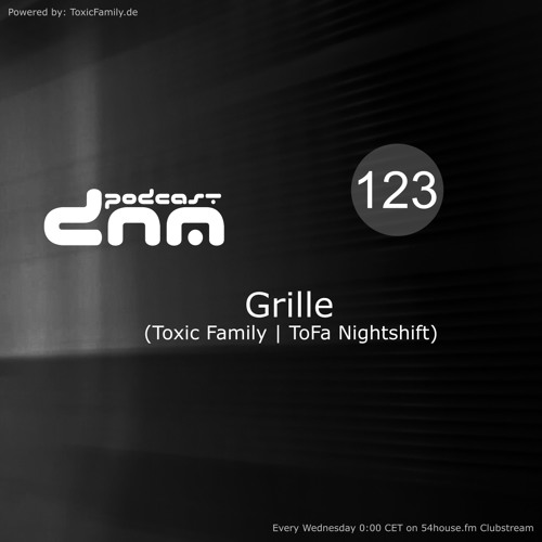 Digital Night Music Podcast 123 mixed by Grille
