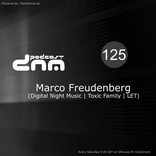 Digital Night Music Podcast 125 mixed by Marco Freudenberg