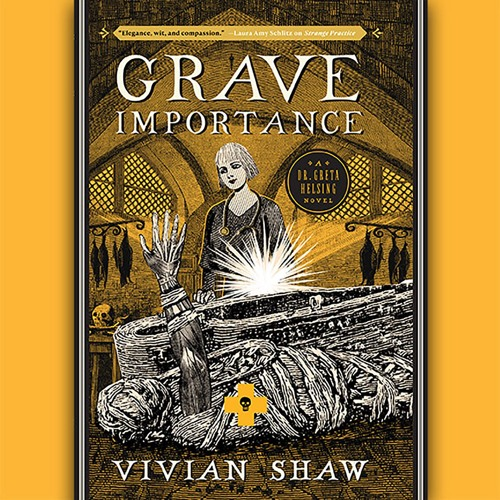 GRAVE IMPORTANCE by Vivian Shaw Read by Suzannah Hampton - Audiobook Excerpt