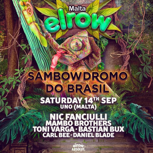 Mambo Brothers Live @ Elrow, Malta - 14.09.19